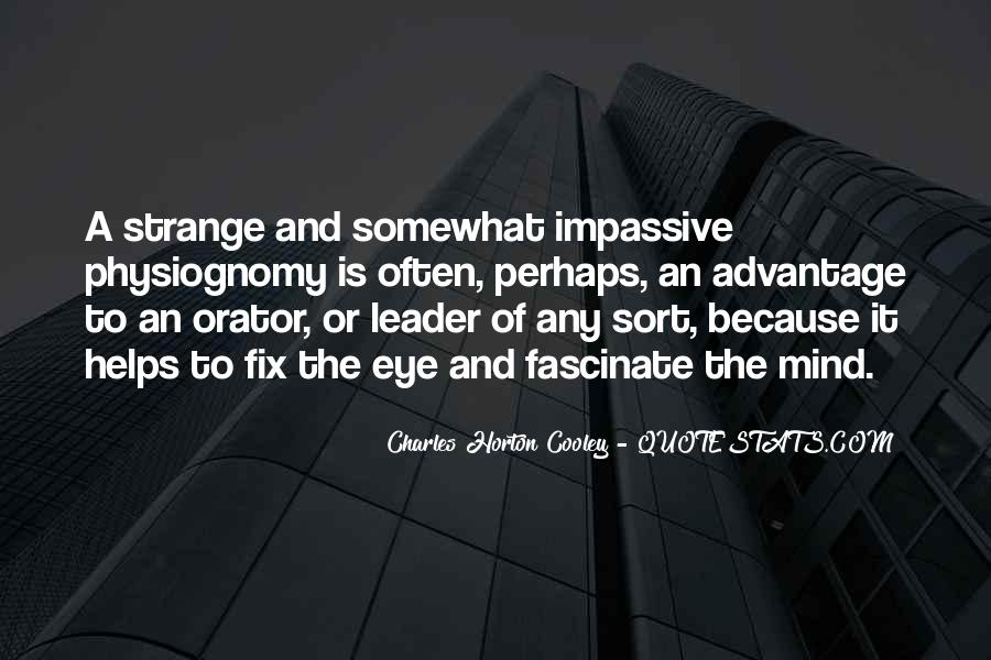 Horton Cooley Quotes #1352216