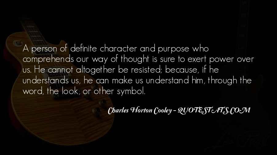 Horton Cooley Quotes #1418512