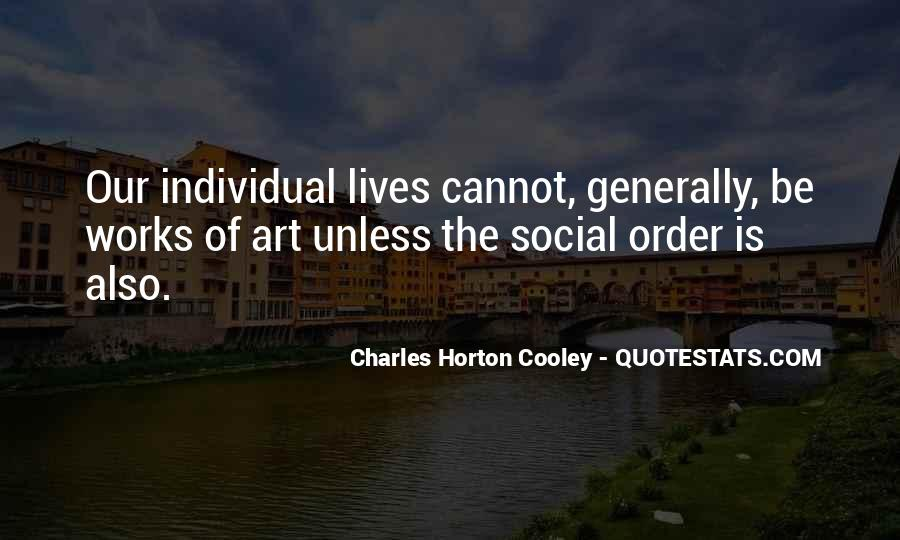 Horton Cooley Quotes #1604342