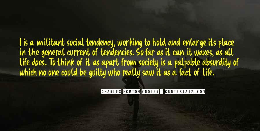 Horton Cooley Quotes #423817
