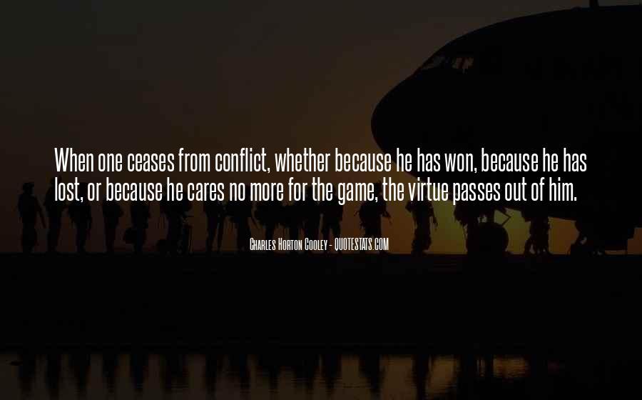 Horton Cooley Quotes #51214