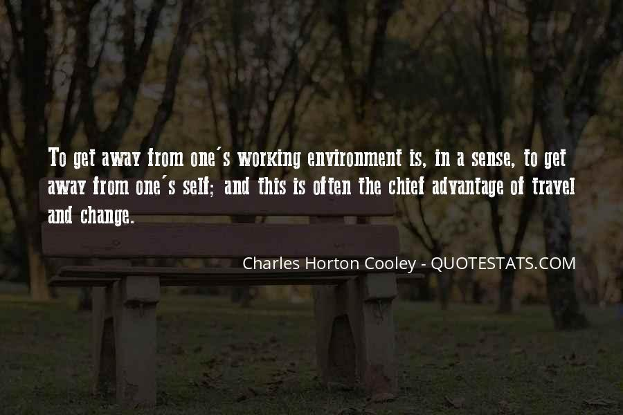 Horton Cooley Quotes #514826
