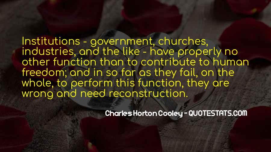 Horton Cooley Quotes #643895