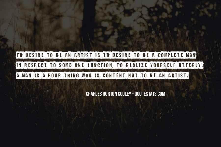 Horton Cooley Quotes #815344