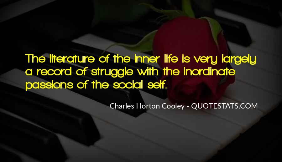 Horton Cooley Quotes #91909