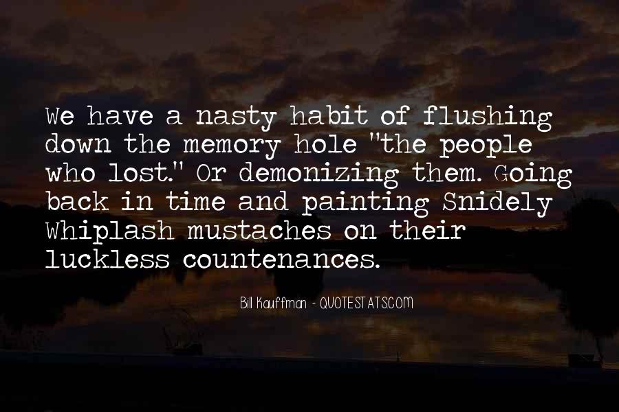 Quotes About Flushing #1111582