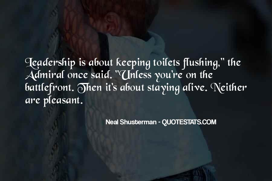 Quotes About Flushing #1764640