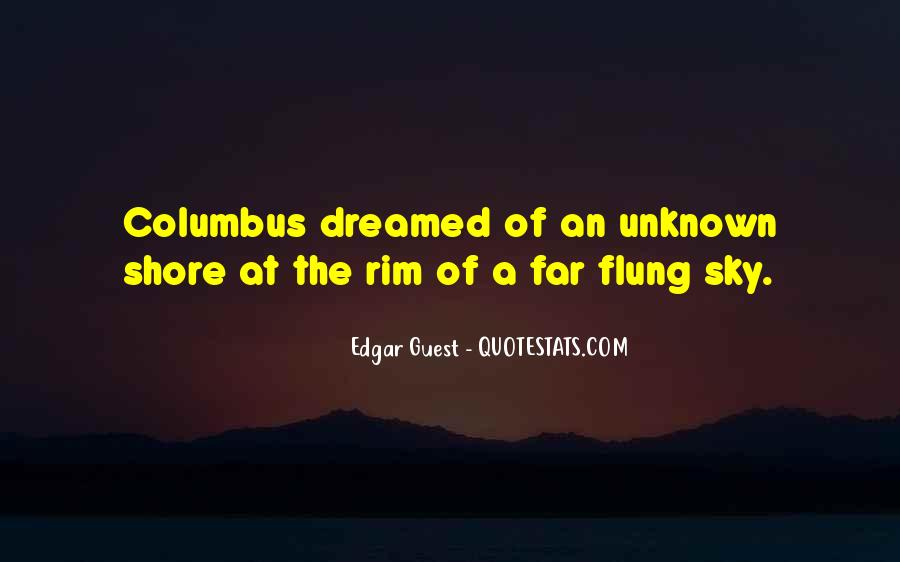 Quotes About Flung #6803