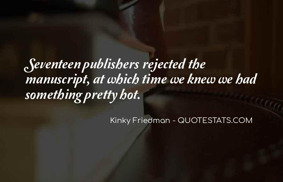Top 9 Hot Kinky Quotes: Famous Quotes & Sayings About Hot Kinky