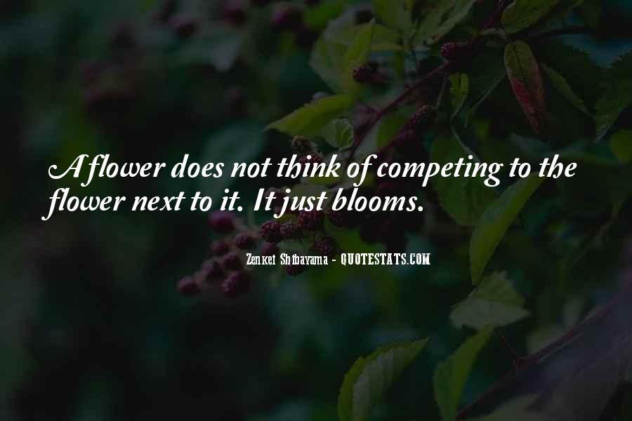 Quotes About Flower #37197