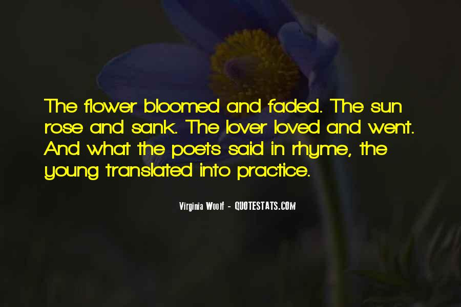 Quotes About Flower #52306