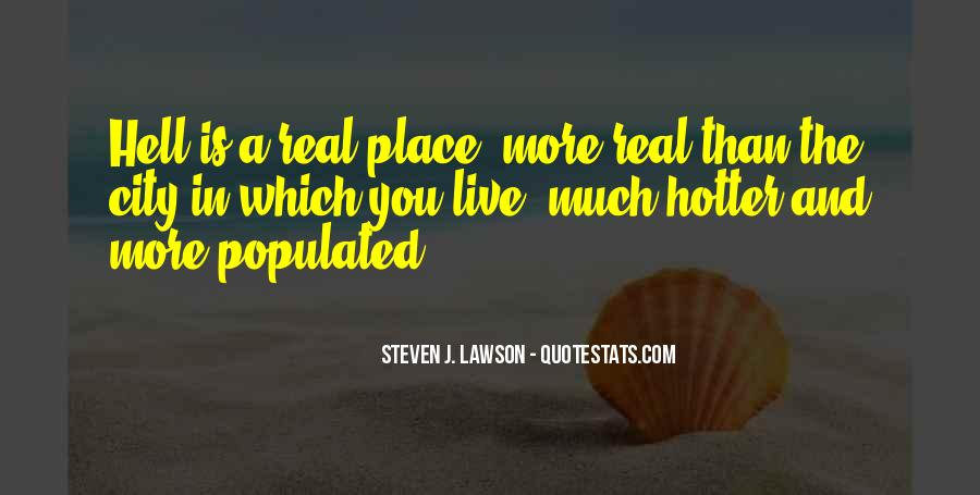 Hotter Than You Quotes #1438405