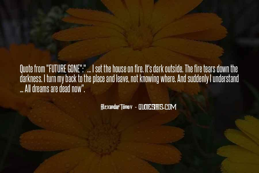 House On Fire Quotes #1870300