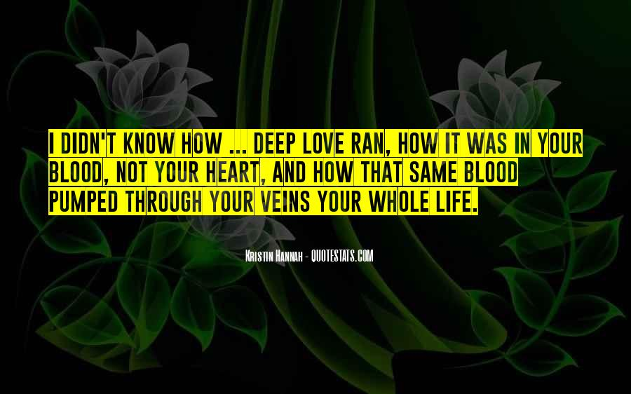 Top 80 How Deep Love Quotes: Famous Quotes & Sayings About