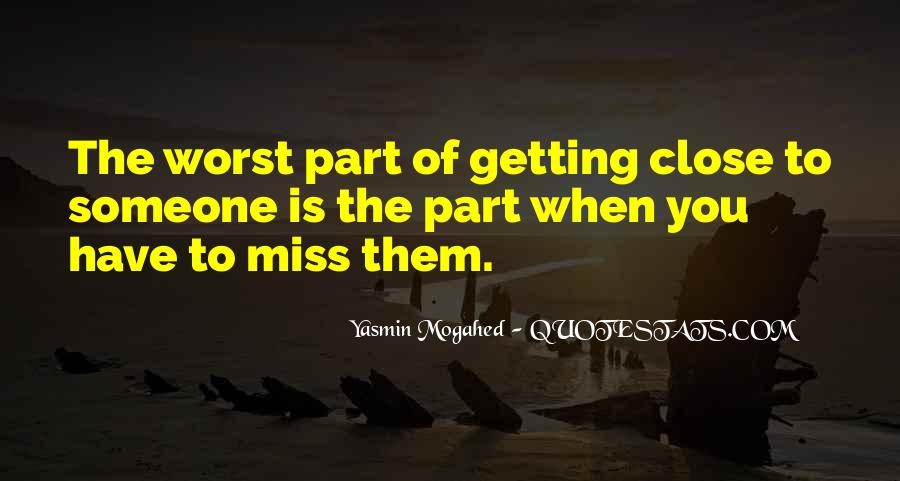 How Do I Miss You Quotes #13841