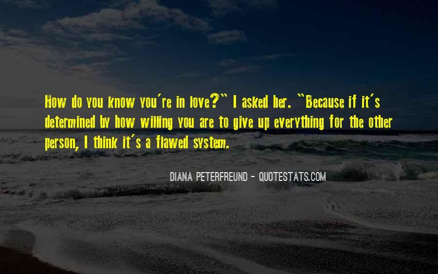 How Do You Know If You're In Love Quotes #141285