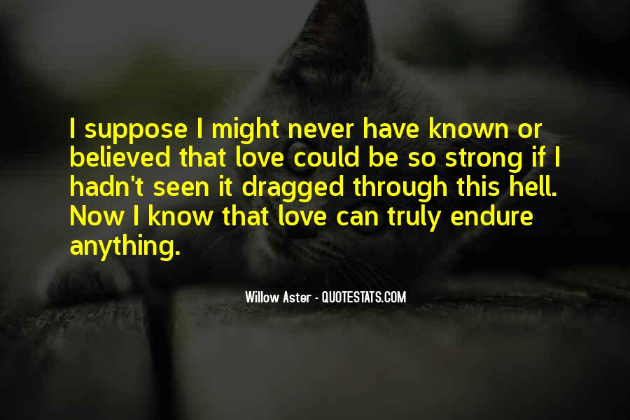 How Do You Know If You're In Love Quotes #9001