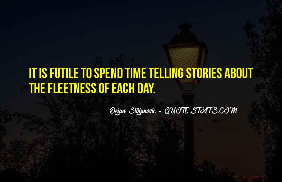 Quotes About Fleetness #1223704