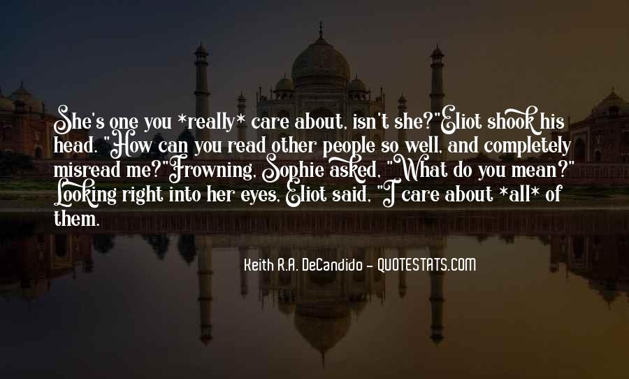 How I Care About You Quotes #1551244