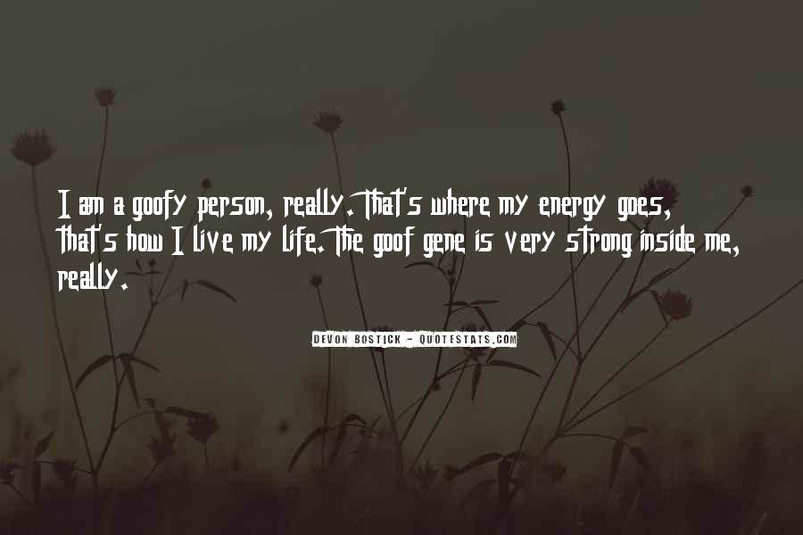 How I Live My Life Quotes #201065