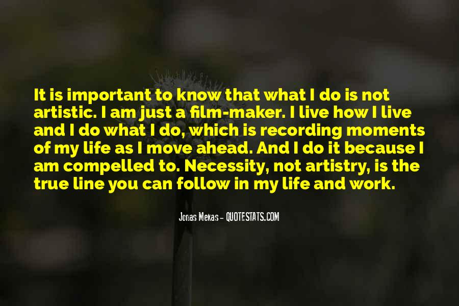 How I Live My Life Quotes #285194