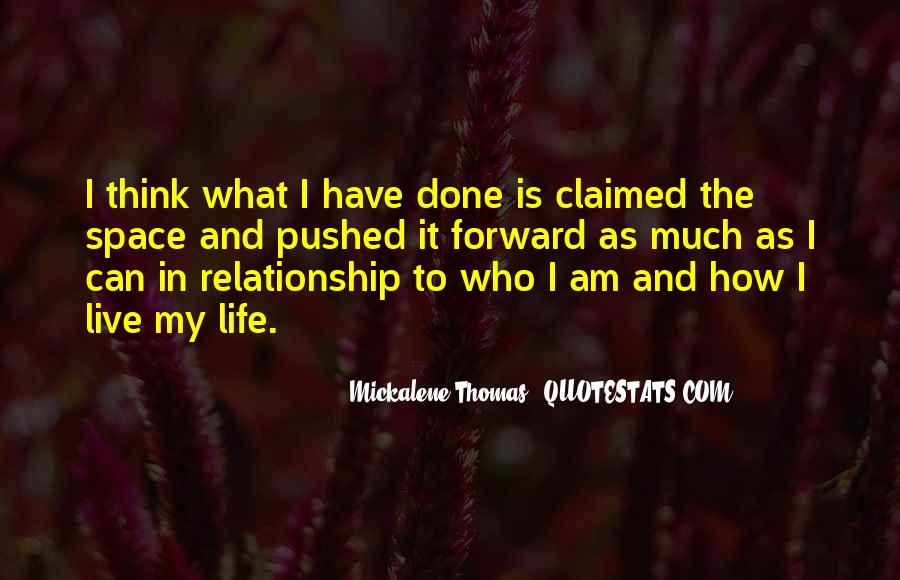 How I Live My Life Quotes #541646