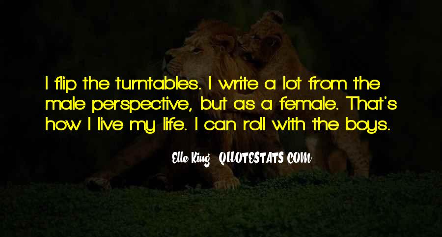 How I Live My Life Quotes #913020