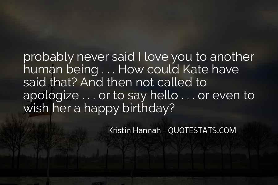 How I Wish Love Quotes #1218581