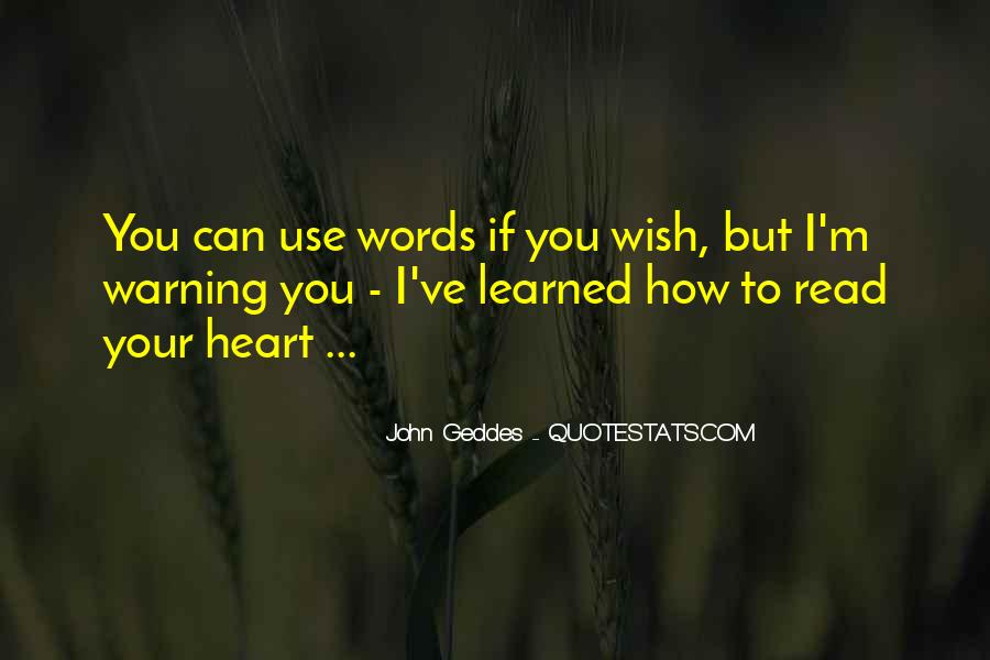 How I Wish Love Quotes #122440