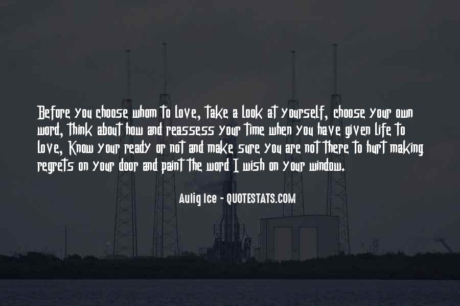 How I Wish Love Quotes #1320031