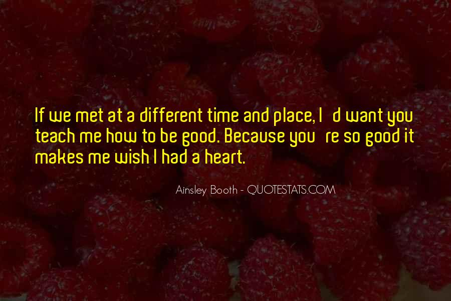 How I Wish Love Quotes #643948