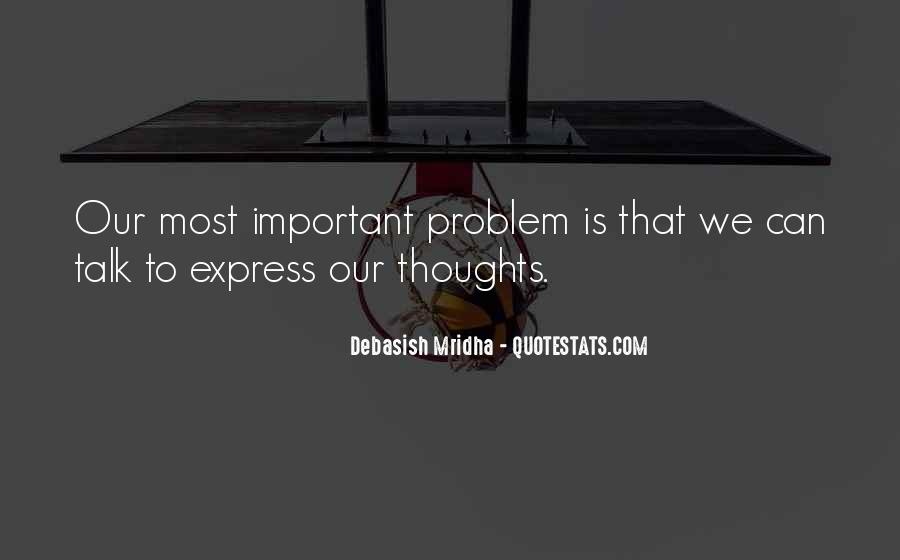 How Important Someone Is Quotes #4082