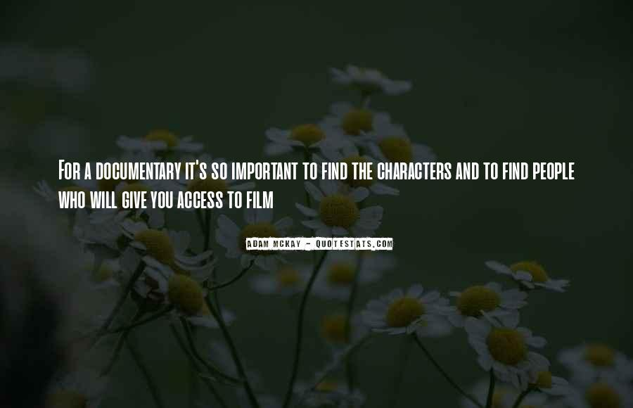 How Important Someone Is Quotes #6064