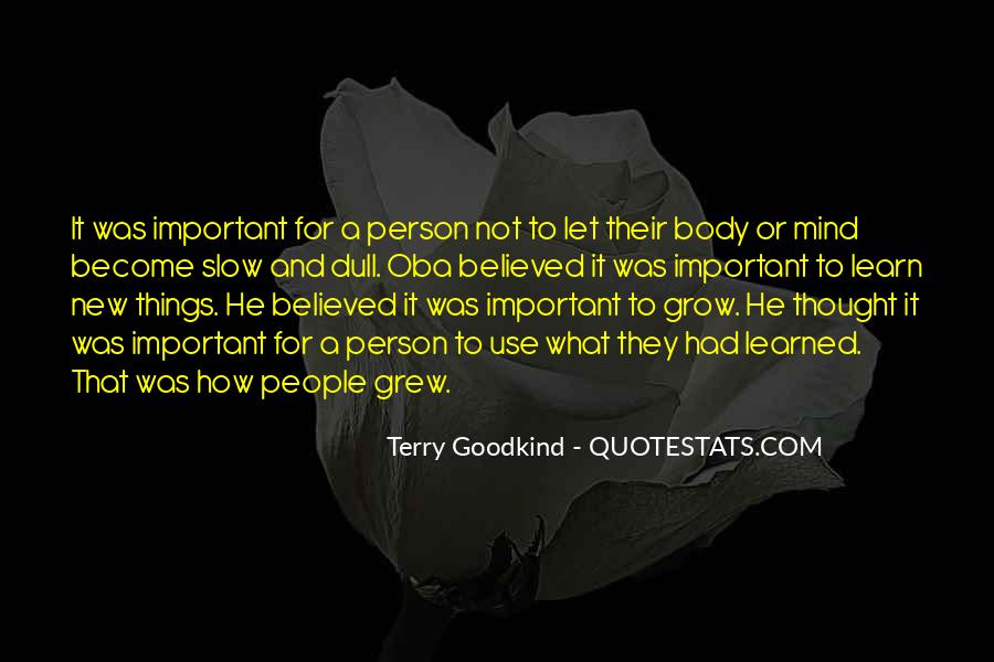 How Important Someone Is Quotes #7639