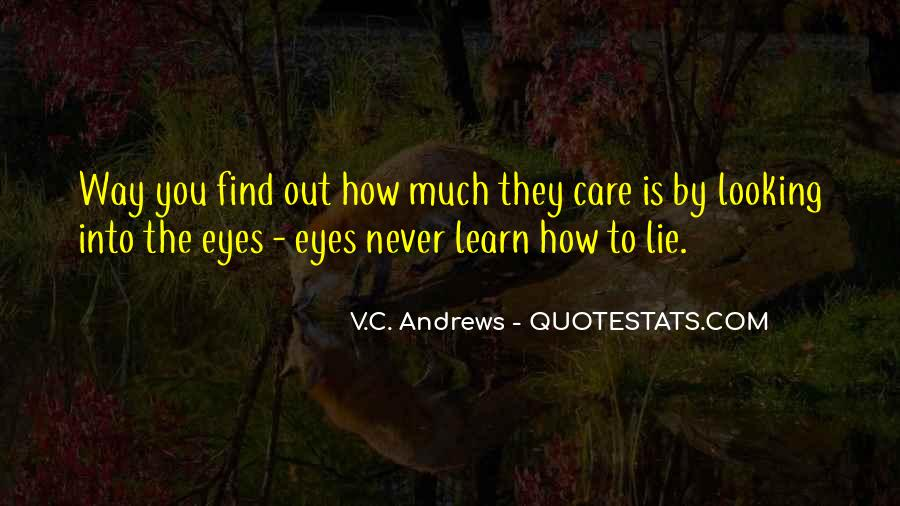 How Much You Care Quotes #1058882
