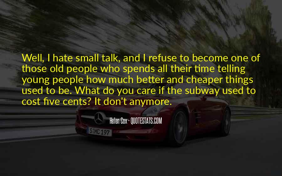 How Much You Care Quotes #1501468