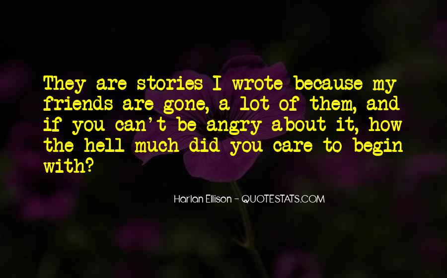 How Much You Care Quotes #401454