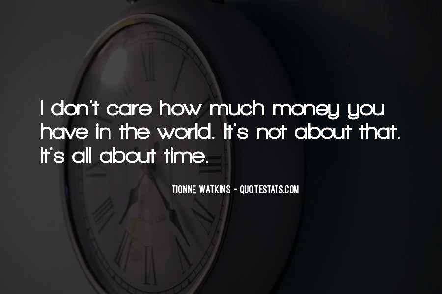 How Much You Care Quotes #59687