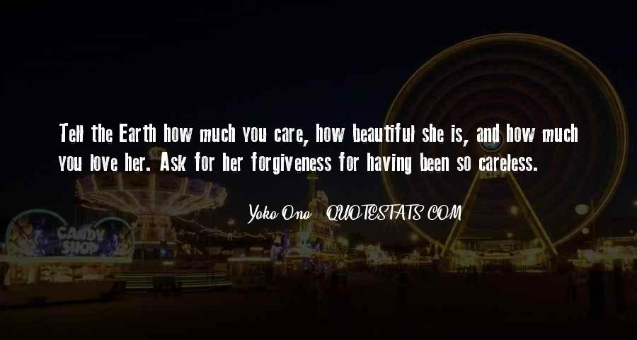 How Much You Care Quotes #653317
