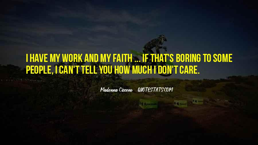How Much You Care Quotes #686896