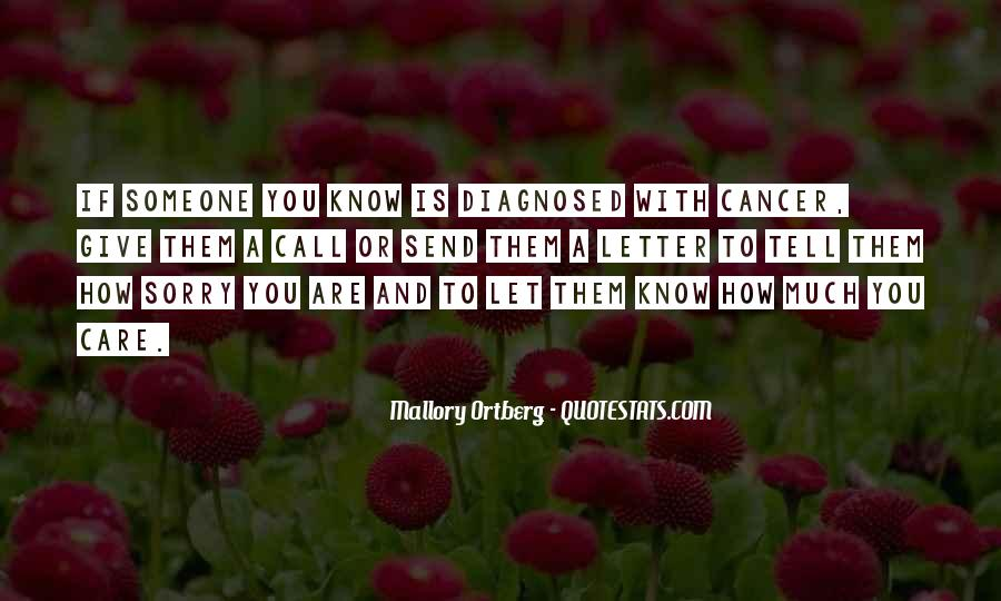 How Much You Care Quotes #759113