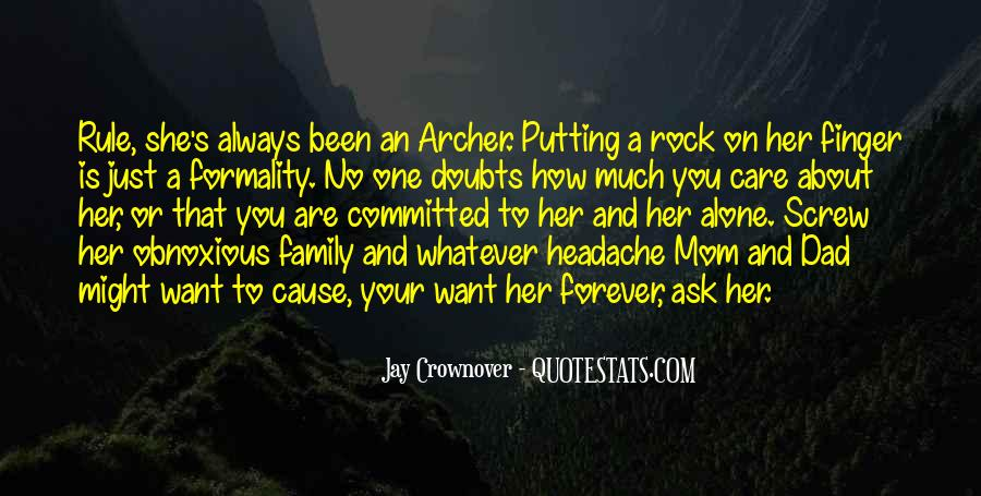 How Much You Care Quotes #855746