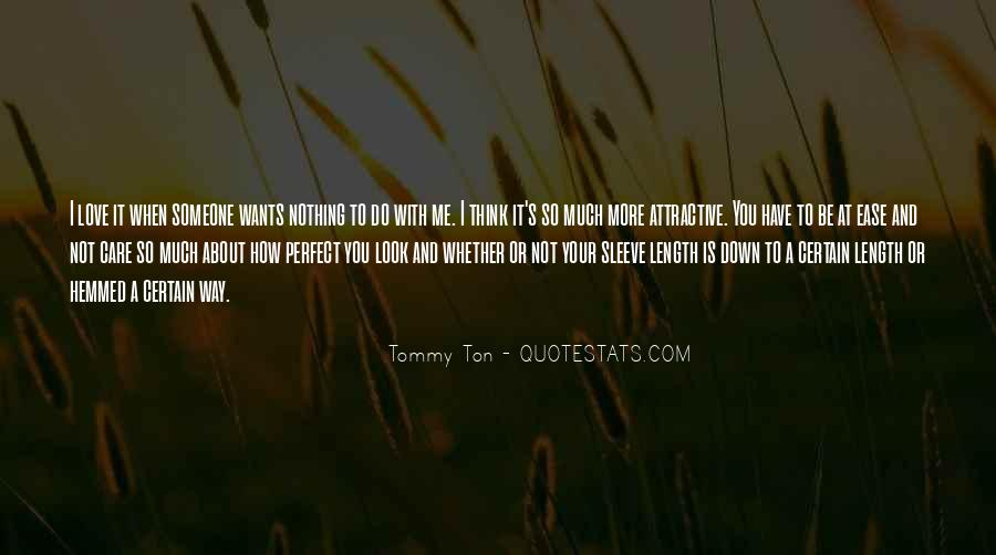 How Much You Care Quotes #917815