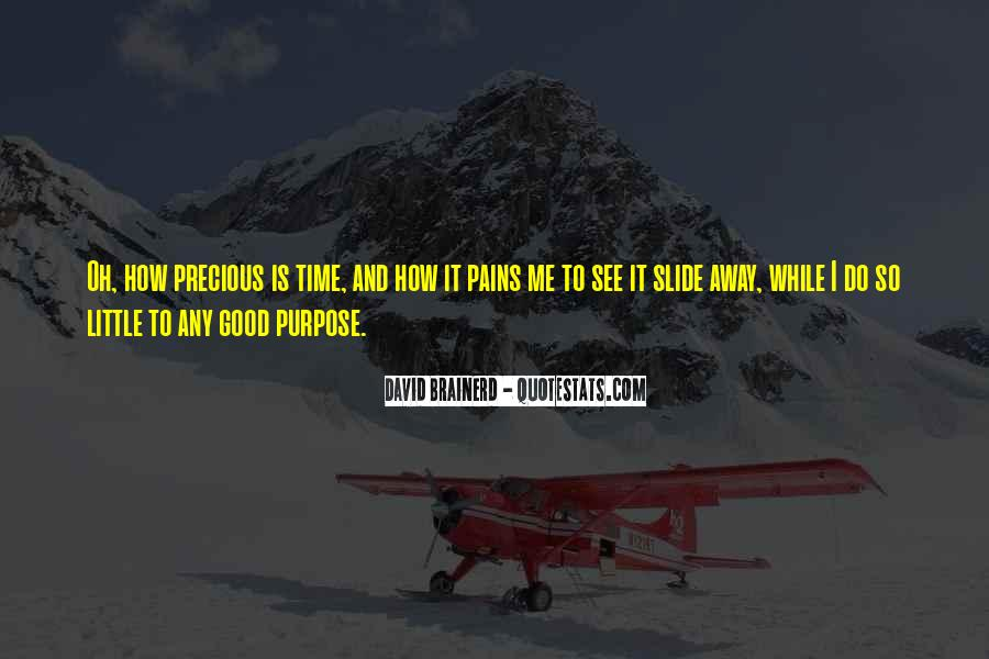 How Precious Time Is Quotes #1563608