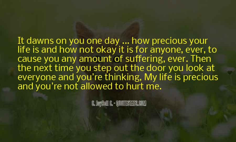 How Precious Time Is Quotes #1615370