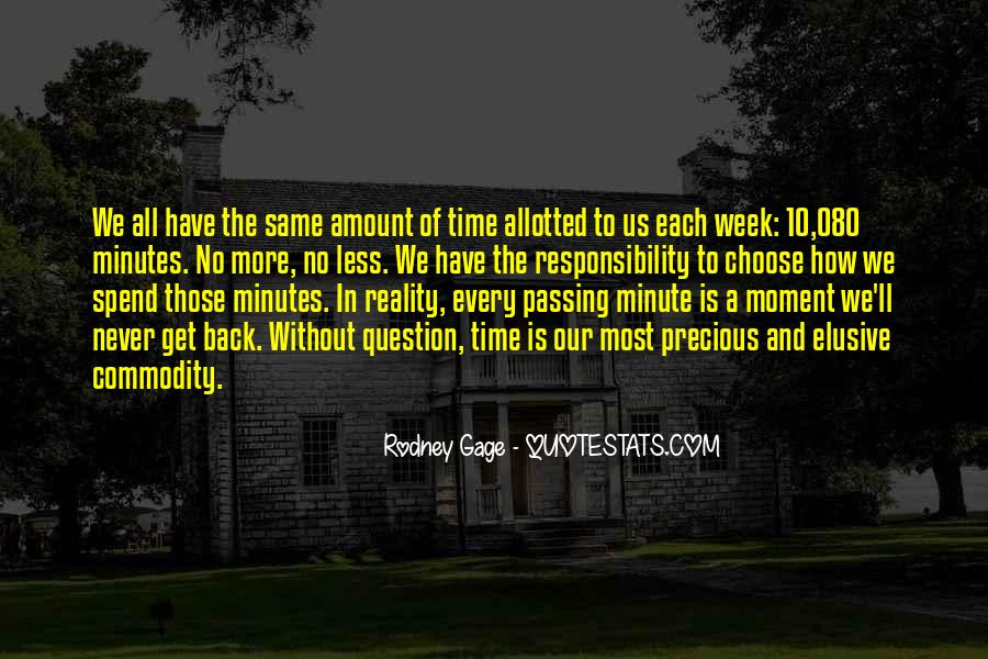 How Precious Time Is Quotes #225926