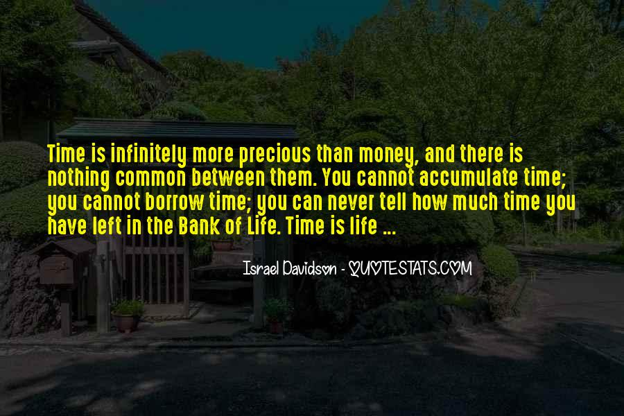 How Precious Time Is Quotes #853620