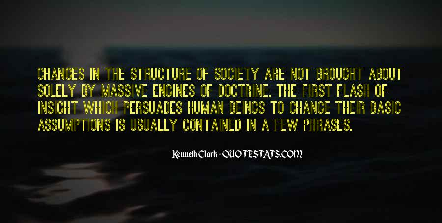 How To Change Society Quotes #303809