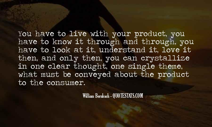 How To Live Without Love Quotes #13956