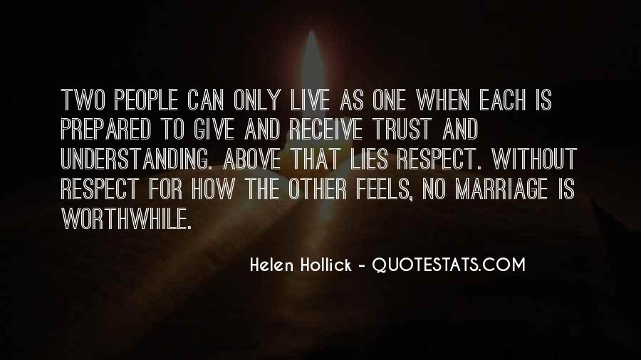 How To Live Without Love Quotes #1769076